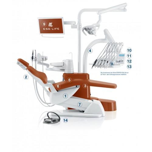 Estetica E50 Life S/TM top / bottom feed dental unit | KaVo (Germany)